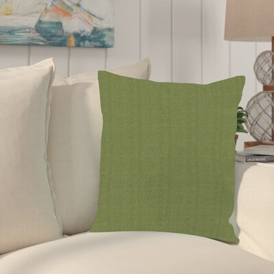 Sandalwood Outdoor Sunbrella Throw Pillow Fabric: Seascape Moss