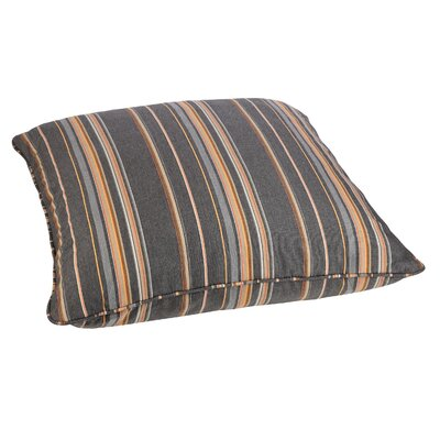 Petronia Outdoor Sunbrella Euro Pillow Fabric: Multi-Colored Stripes