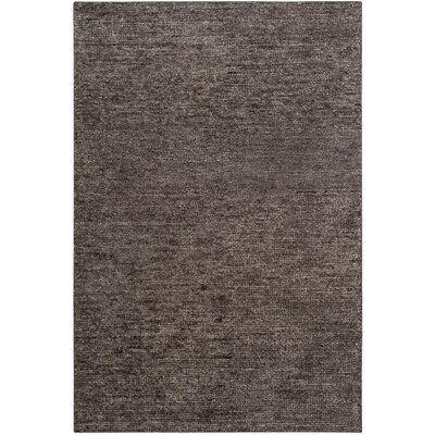McArthur Hand-Knotted Gray Area Rug Rug Size: Rectangle 4 x 6
