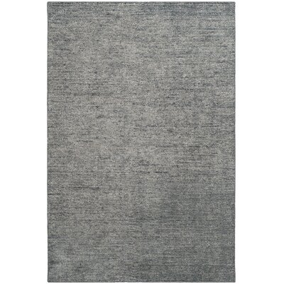 McArthur Hand-Knotted Rectangle Gray Area Rug Rug Size: Rectangle 4 x 6
