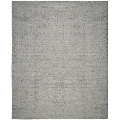 McArthur Hand-Knotted Rectangle Gray Area Rug Rug Size: Rectangle 8 x 10
