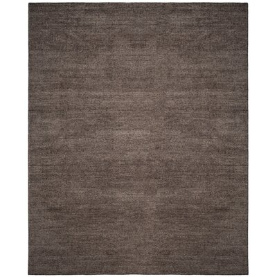 McArthur Hand-Knotted Gray Area Rug Rug Size: Rectangle 8 x 10