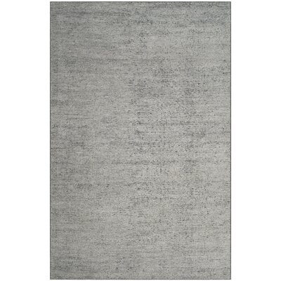 McArthur Hand-Knotted Rectangle Gray Area Rug Rug Size: Rectangle 5 x 8