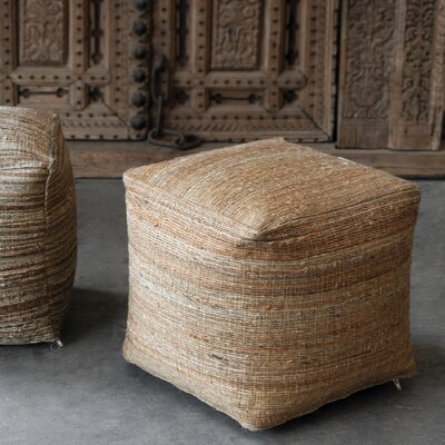 Shafter Pouf Upholstery: Beige