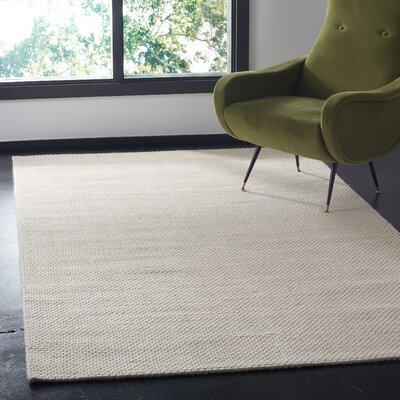 Marina Hand Tufted Ivory Area Rug� Rug Size: Rectangle 3 x 5