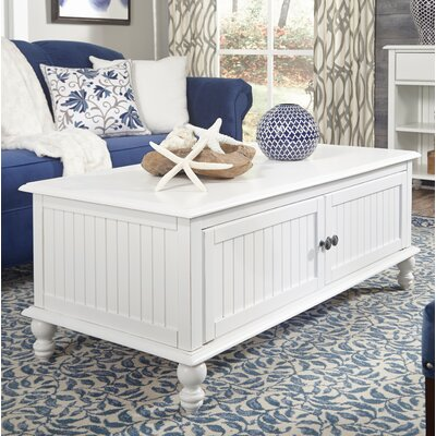 Witherspoon Coffee Table Color: Beach White
