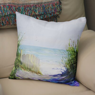 Rowe Path Throw Pillow Size: 18