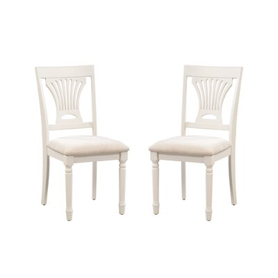 Whittaker Solid Wood Dining Chair Frame Color: White