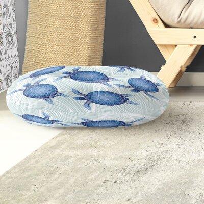 Crenshaw Round Floor Pillow Size: 26 H x 26 W