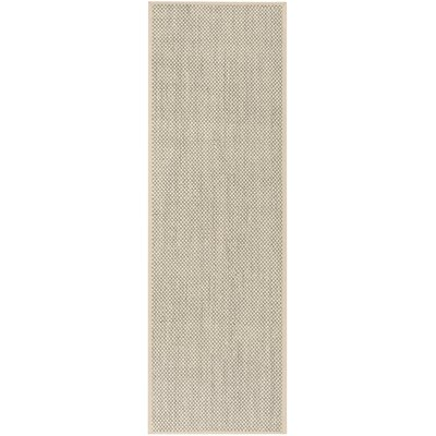 Chaim Ivory Area Rug Rug Size: Runner 26 x 8