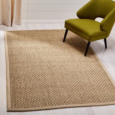 Chagoya Beige Area Rug Rug Size: Rectangle 8 x 10