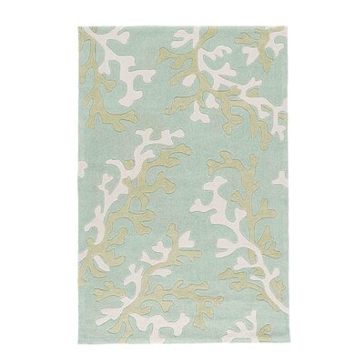 Parkmont Blue/Ivory Rug Rug Size: Rectangle 9 x 12