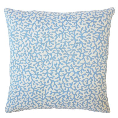 Sherborn Nautical Down Filled Throw Pillow Size: 18 x 18, Color: Baltic