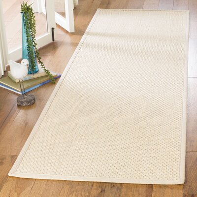 Chaidez Ivory Area Rug Rug Size: Runner 26 x 8