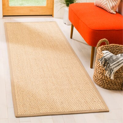 Chaisson Ivory Area Rug Rug Size: Runner 26 x 8
