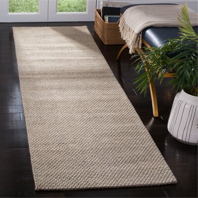 Grenadines Hand Tufted Beige Area Rug� Rug Size: Runner 23 x 8