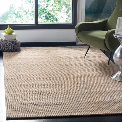 Grenadines Hand Tufted Beige Area Rug� Rug Size: Rectangle 8 x 10