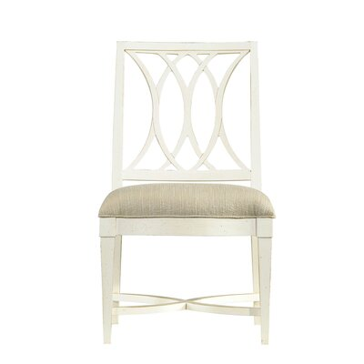 Blackburn Side Chair Finish: Distressed Nautical White