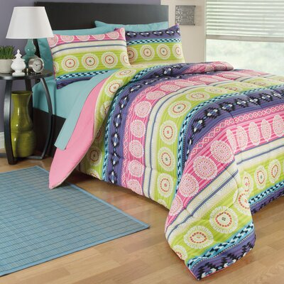 Gypsy 3 Piece Comforter Set Size: Full