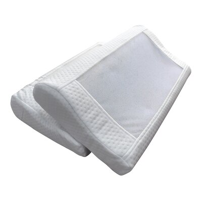 Gel-Infused Better Sleep Contour Memory Foam Standard Pillow