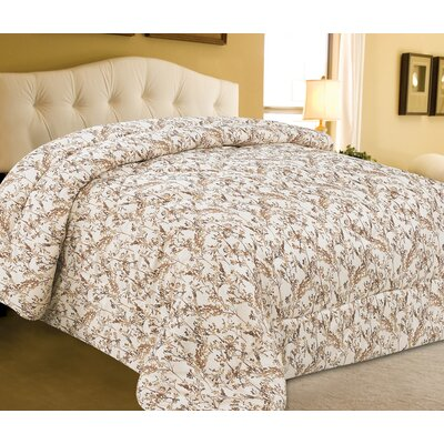 Mimosa Microfiber Comforter Size: King