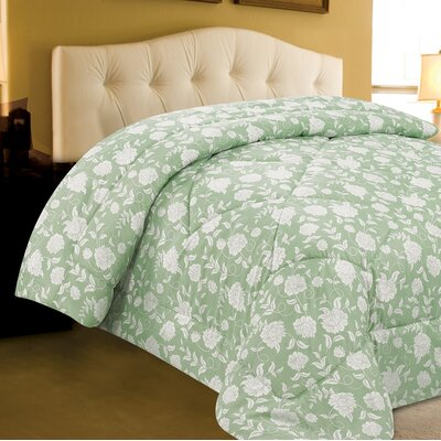 Melanie Microfiber Comforter Size: King