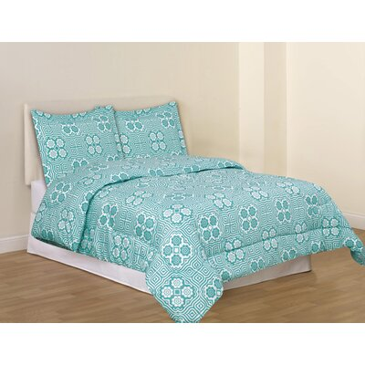 Tribal Mosaic Comforter Set Size: Full / Queen