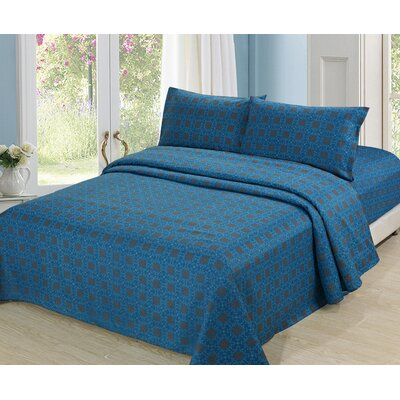 Culture Clash Polyester Sheet Set Size: Queen