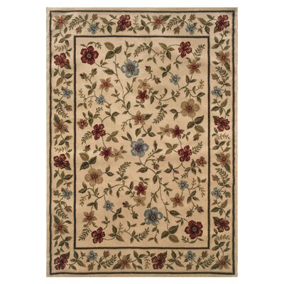 Abbottstown Ivory/Beige Area Rug Rug Size: Rectangle 33 x 55