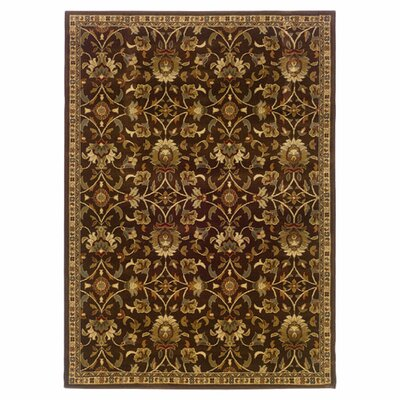 Abell Brown/Beige Area Rug Rug Size: Rectangle 5 x 76
