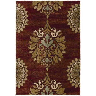 Katie Red Area Rug Rug Size: 710 x 1010