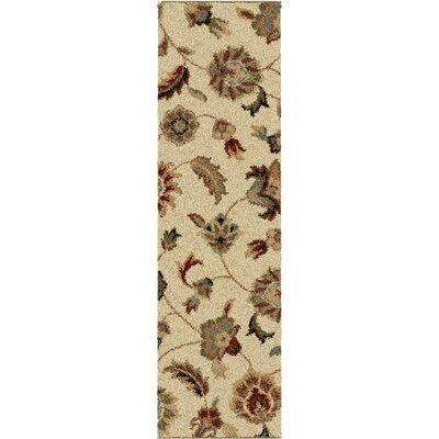 Landyn Bisque London Beige Area Rug Rug Size: Runner 23 x 8