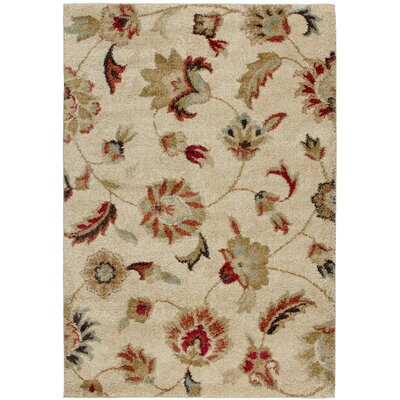 Landyn Bisque London Beige Area Rug Rug Size: 710 x 1010