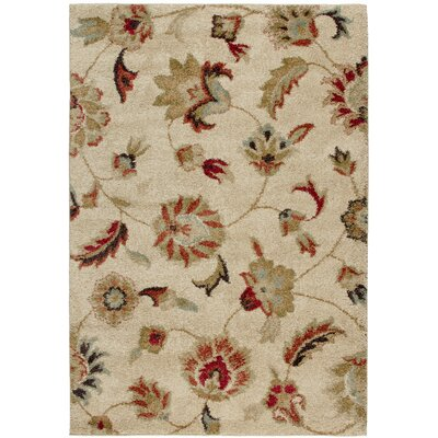 Landyn Bisque London Beige Area Rug Rug Size: 9 x 13