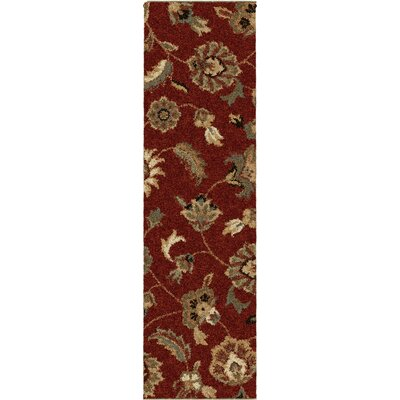 Landyn Rouge London Red Area Rug Rug Size: Runner 23 x 8