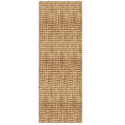 Helvetia Reversible Hand-Woven Brown Indoor Area Rug