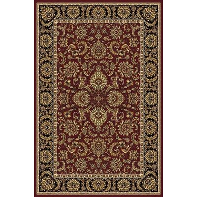 Ione Burgundy Area Rug Rug Size: Runner 22 x 8
