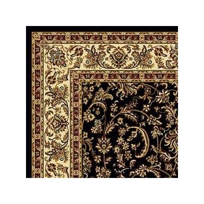 Jimtown Black Area Rug Rug Size: Rectangle 79 x 96