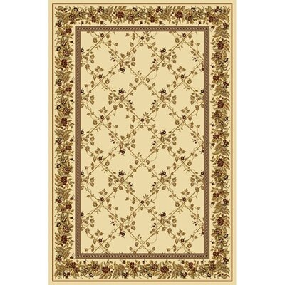 Kelso Ivory Area Rug Rug Size: 33 x 54