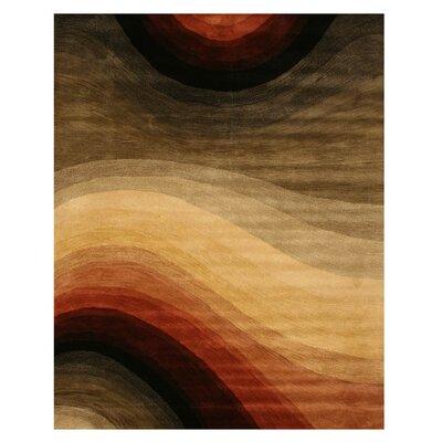 Kingsley Hand-Tufted Multi Area Rug Rug Size: 96 x 136