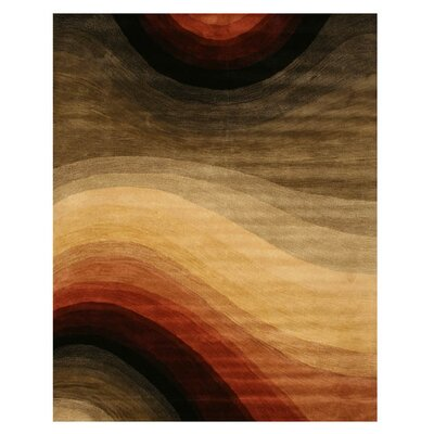 Kingsley Hand-Tufted Multi Area Rug Rug Size: 79 x 99