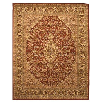 Lancaster Hand-Woven Simba Brown Area Rug Rug Size: Rectangle 5 x 8