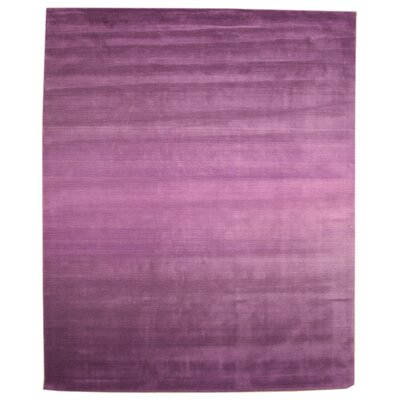 Langlois Purple Area Rug Rug Size: Rectangle 79 x 99