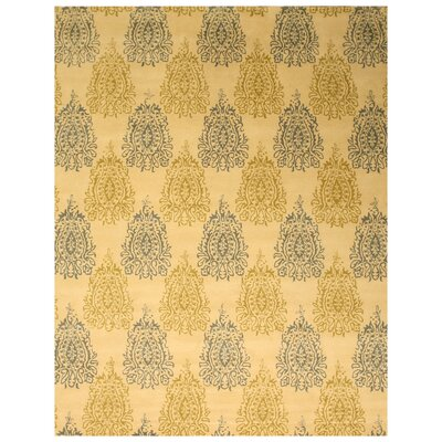 Laurel Hand-Tufted Ivory Area Rug Rug Size: 79 x 99