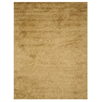 Leona Hand-Woven Tan Area Rug Rug Size: Rectangle 8 x 10