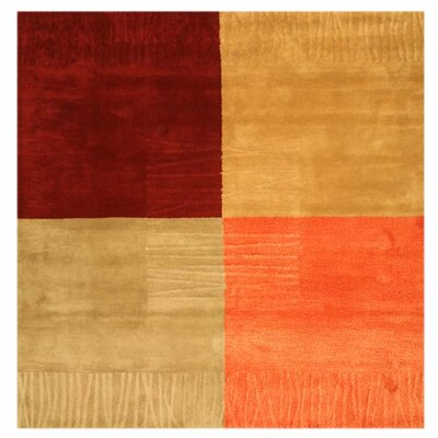 Lewisville Hand-Tufted Area Rug Rug Size: Square 6