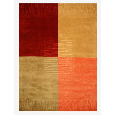 Lewisville Hand-Tufted Area Rug Rug Size: Rectangle 5 x 8