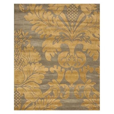 Lincoln Hand-Tufted Blue Area Rug Rug Size: 5 x 8
