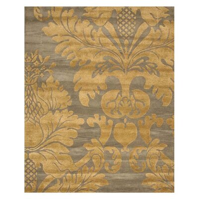 Lincoln Hand-Tufted Blue Area Rug Rug Size: 79 x 99