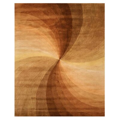 Lindbergh Brown Area Rug Rug Size: 7'9
